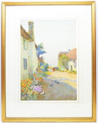 Lot 321 - William Follen Bishop - watercolour