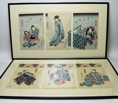Lot 268 - Kuniyoshi - woodblock prints