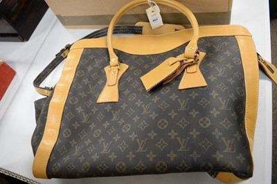 Lot 462 - Louis Vuitton, Paris, leather overnight bag.