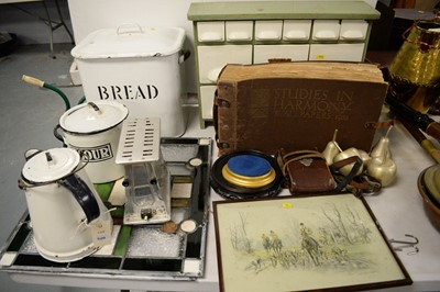 Lot 520 - Selection of kitchenalia and other items.