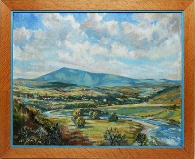 Lot 349 - Les Grimes - oil on canvas