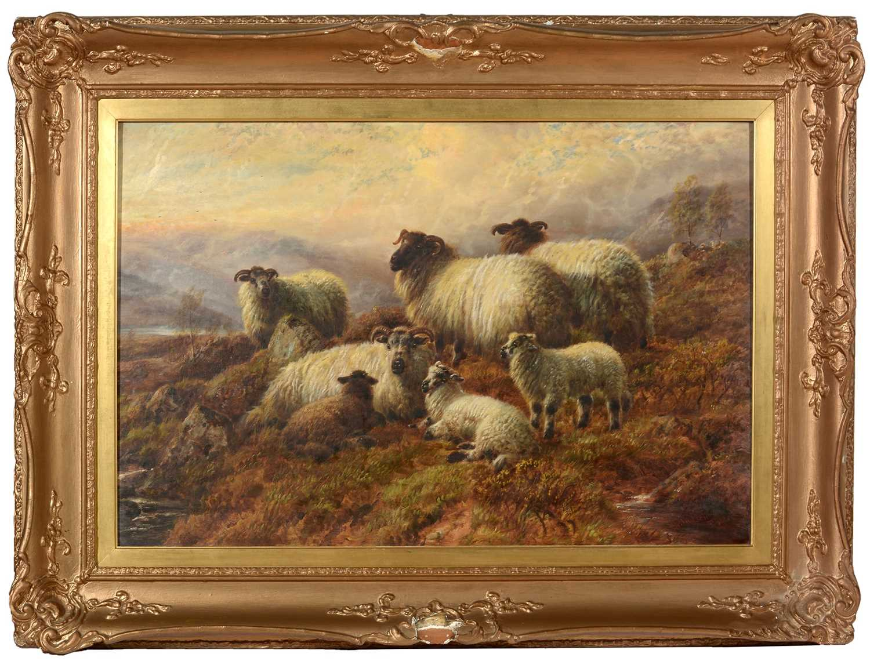 Lot 407 - Robert Watson-oil painting