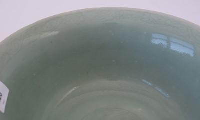 Lot 420 - Carved Celadon glazed bowl