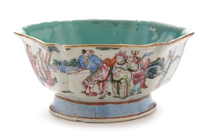 Lot 421 - Chinese famille rose bowl