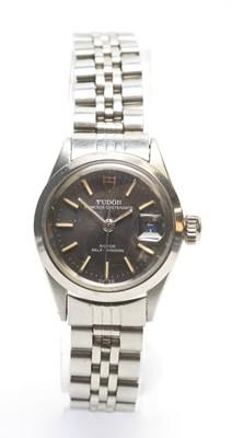 Lot 178 - Tudor Princess Oysterdate manual wind wristwatch
