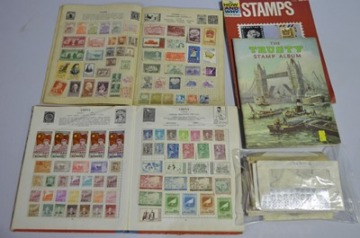 Lot 182 - Chinese and other stamps