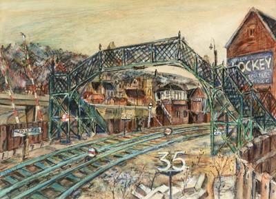 Lot 238 - Richard Hobson - watercolour.
