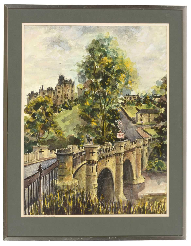 Lot 239 - Richard Hobson - watercolour.