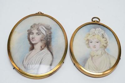 Lot 272 - British School, 19th Century - miniature