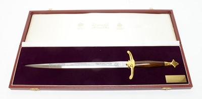 Lot 1057 - A Wilkinson Sword commemorative dagger.