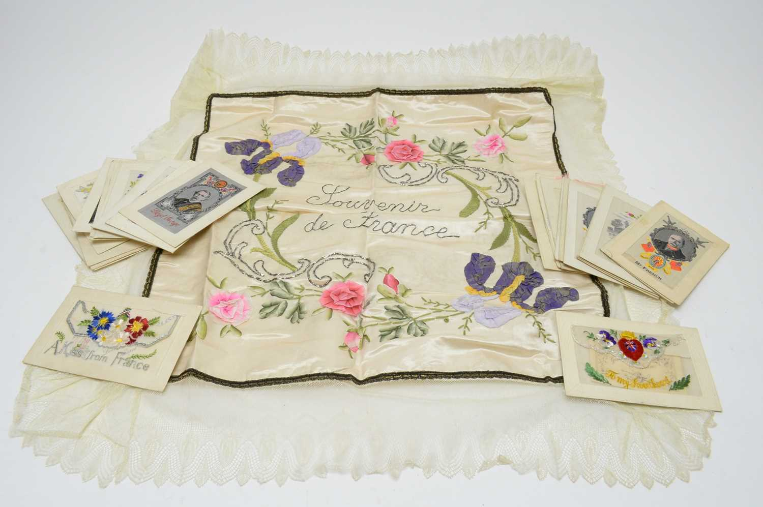 Lot 1060 - Collection of WWI silks