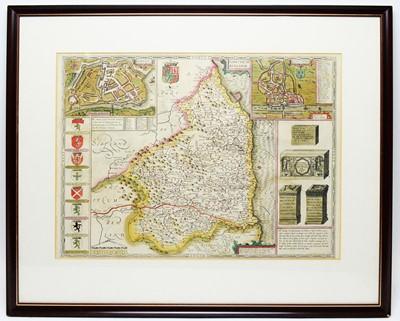 Lot 254 - John Speede - coloured engraving