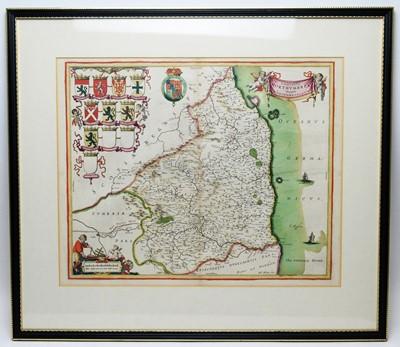 Lot 255 - John Blaeu - coloured engraving