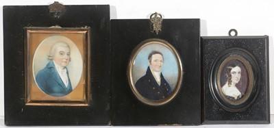 Lot 92 - British School 18th Century - miniatures