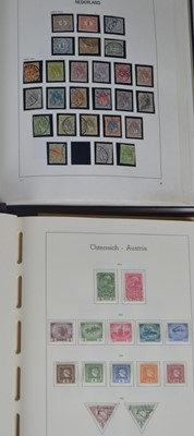 Lot 91 - A Davo album of Netherlands stamps. / GB accumulation.