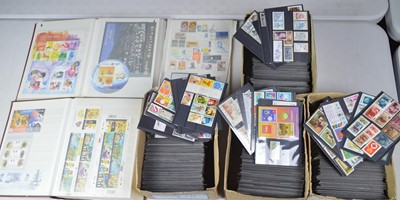Lot 142 - Large collection of medical interest stamps.