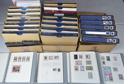 Lot 143 - Large collection of medical interest stamps.