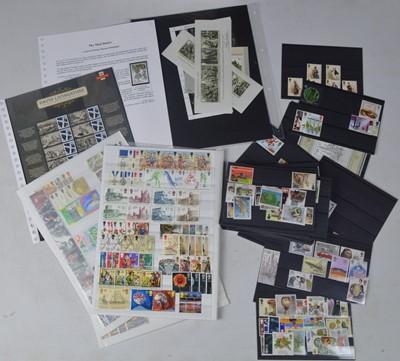 Lot 145 - GB post decimal mint Royal Mail stamps.