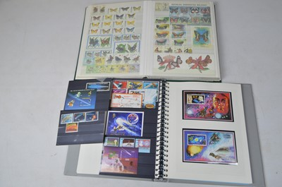 Lot 160 - Thematics including album of butterfly stamps.