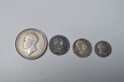 Lot 212 - Four Georgian coins