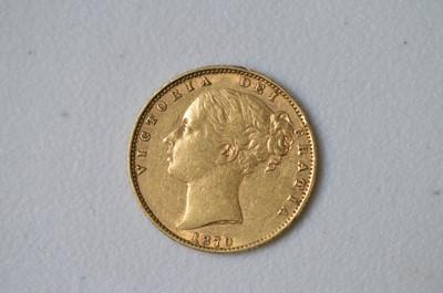 Lot 216 - Queen Victoria gold sovereign
