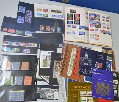 Lot 165 - Great Britain 1936 and later postage stamps.