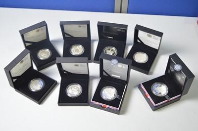 Lot 198 - Royal Mint silver crowns
