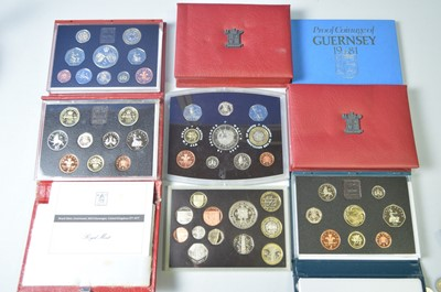 Lot 196 - Royal Mint proof coin sets