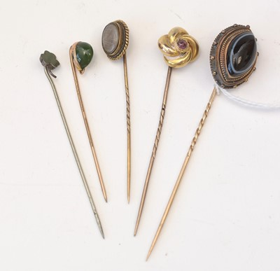Lot 186 - Tie pin collection