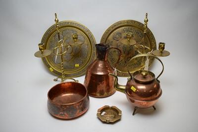 Lot 267 - A quantity of copper and brassware