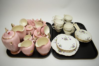 Lot 378 - Royal Winton tea service; and a part bone china tea service.