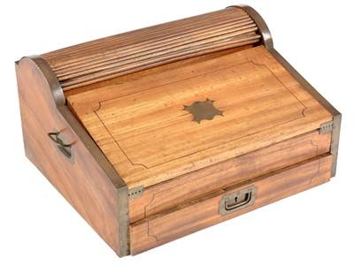 Lot 792 - Mid 19th Century Ship's captain writing box