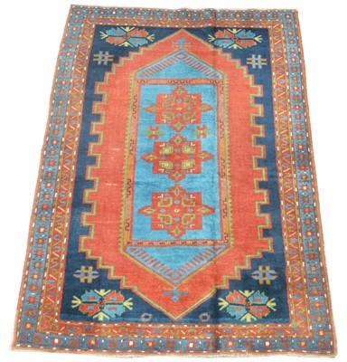 Lot 637 - Antique Caucasian rug