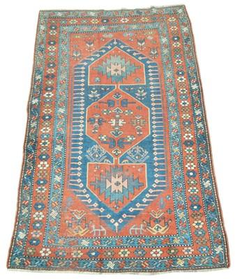 Lot 641 - Antique Caucasian rug
