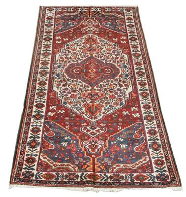 Lot 642 - Antique Bakhtiari carpet