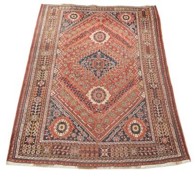 Lot 650 - Antique Qashqai carpet