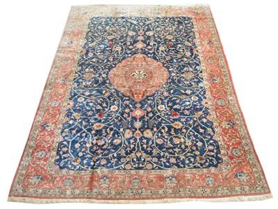 Lot 651 - Antique Qum carpet