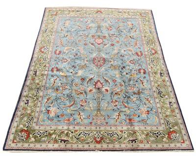 Lot 652 - Antique Qum carpet