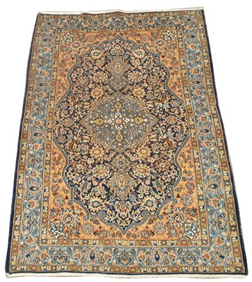 Lot 653 - Antique Qum carpet
