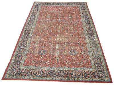 Lot 657 - Antique Tabriz carpet