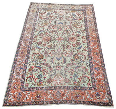 Lot 663 - Antique Tabriz carpet