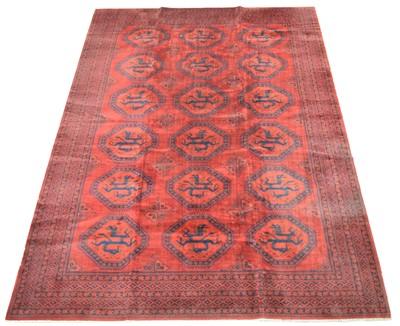 Lot 667 - Afghan carpet