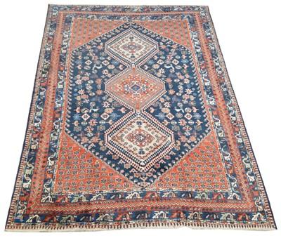 Lot 668 - Fine Anquite Yalameh carpet