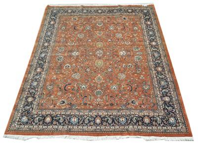 Lot 670 - Fine Tabriz carpet