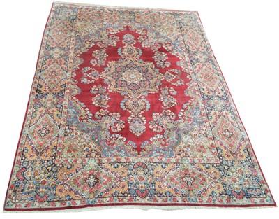 Lot 687 - Kirman carpet