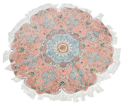 Lot 697 - Circular Kaysari carpet