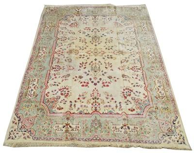 Lot 706 - Kirman carpet