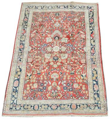 Lot 712 - Antique Sarough Mahal rug