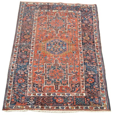 Lot 714 - Antique Heriz rug