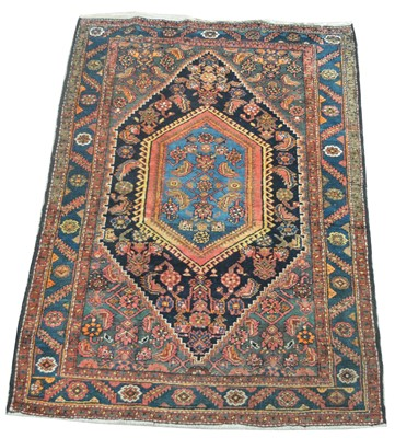 Lot 717 - Antique Malayer rug